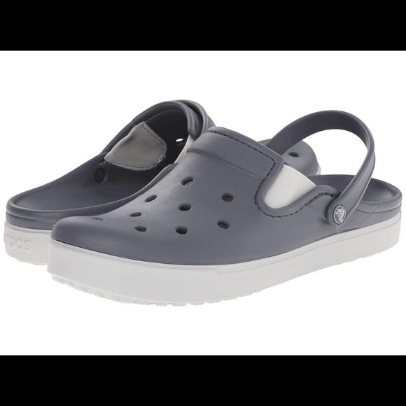 7aa4405028c12 CROCS Shoes - Nwot citilane crocs clogs grey 5